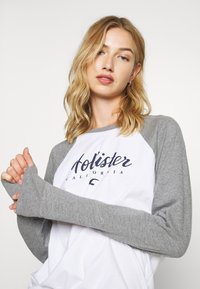 Hollister Co. - SPORTY - Top s dlouhým rukávem - grey - 3