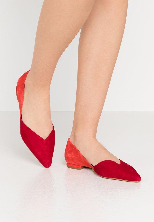 Ballerine - red