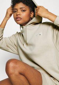 Nike Sportswear - HOODIE DRESS - Day dress - oatmeal - 3