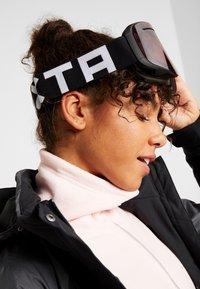 Flaxta - PLENTY - Occhiali da sci - black/white - 4
