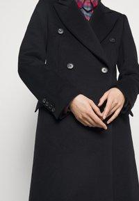 Victoria Beckham - DOUBLE BREASTED TAILORED COAT - Klasický kabát - navy - 4