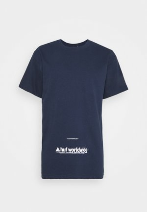TAKING CONTROL TEE - Print T-shirt - french navy
