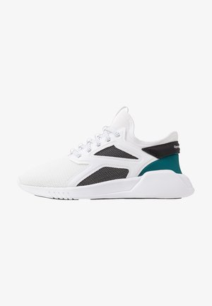 FREESTYLE MOTION - Sports shoes - white/black/hero teal