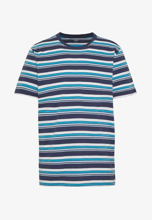 CREW OMBRE - Print T-shirt - military blue