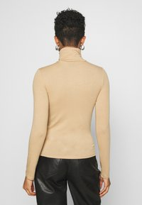 Gina Tricot - GIANNA POLO - Long sleeved top - tannin - 2