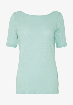 BOAT NECK - T-shirts - misty spearmint