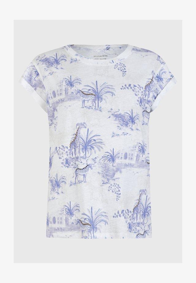 TAJPUR ANNA  - T-shirts print - blue