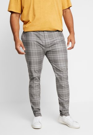 CHECK - Trousers - grey