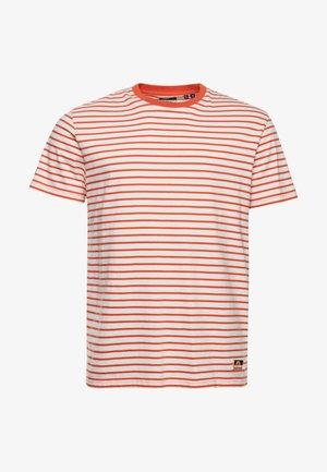 T-shirt imprimé - solar orange stripe