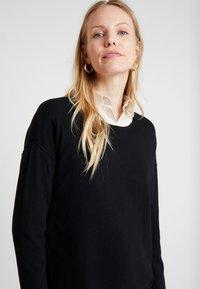 edc by Esprit - NECK ROUND - Maglione - black - 5