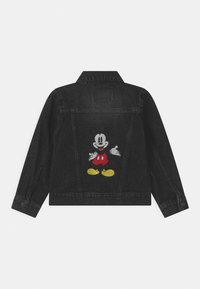 Levi's® - MICKEY MOUSE TRUCKER UNISEX - Giacca di jeans - washed black - 1