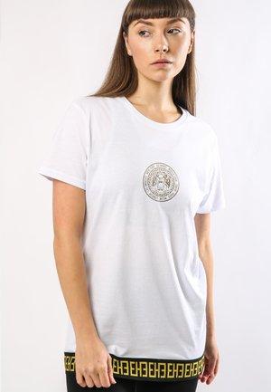 BIG-TOUR T-SHIRT LADIES - Print T-shirt - white