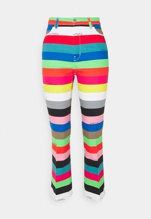 OMETTO - Straight leg jeans - vielfarbig