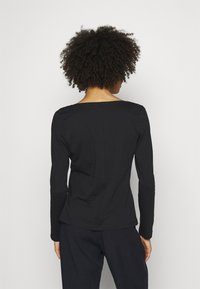 Tommy Hilfiger - REGULAR CLASSIC - Long sleeved top - black - 2