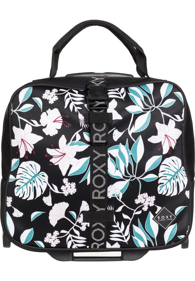ROXY™ GEOMETRIC STORAGE 27L - LAPTOP-HANDGEPÄCKSKOFFER MIT ROLLE - Valise - true black story of sunshine