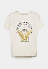 ONLY - ONLSYMBOL MIND - Print T-shirt - pumice stone - 3