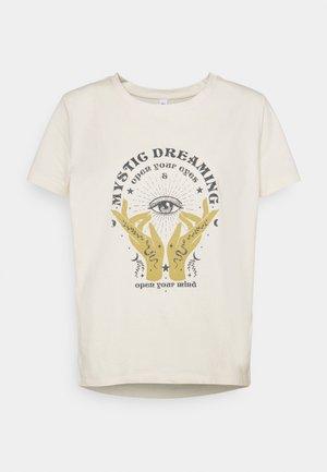 ONLSYMBOL MIND - Print T-shirt - pumice stone
