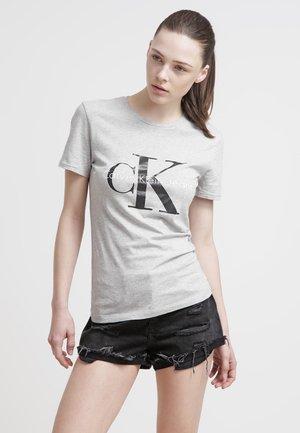 T-shirt con stampa - light grey