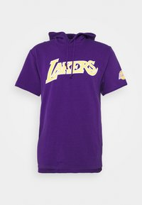 Mitchell & Ness - NBA LOS ANGELES LAKERS GAMEDAY HOODY - Hoodie - purple - 4