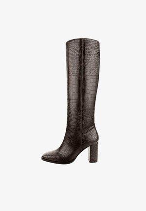 MAGNASCO - High heeled boots - brązowy