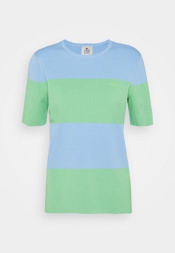 Print T-shirt - nattier blue/liamone