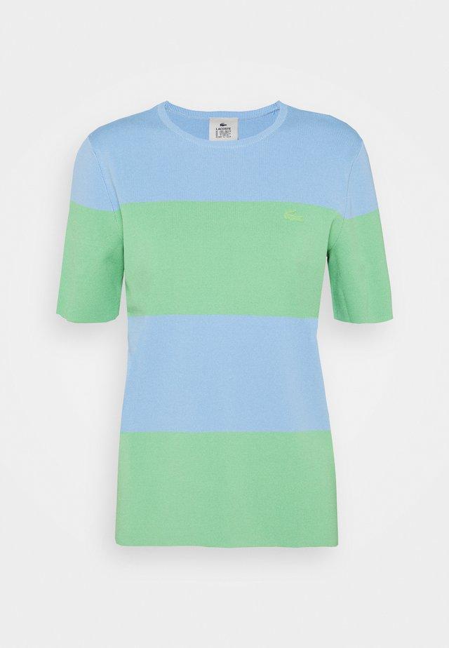 T-shirt print - nattier blue/liamone