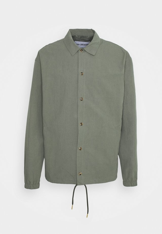 COACH JACKET - Summer jacket - army