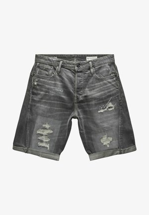 SCUTAR 3D - Denim shorts -  grey