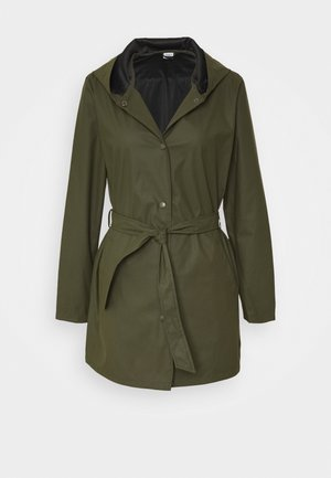 JDYSHELBY BELT RAINCOAT - Regenjas - forest night