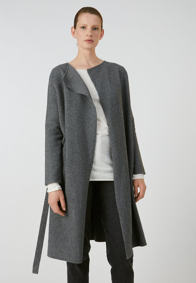 ARMEDANGELS - SEVAAL - Cardigan - mid grey