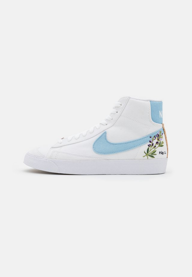 BLAZER MID '77  - High-top trainers - white/obsidian/multicolor