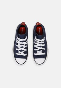 Converse - CHUCK TAYLOR ALL STAR SUMMER COLOR HI UNISEX - High-top trainers - midnight navy/bright poppy/converse black - 3