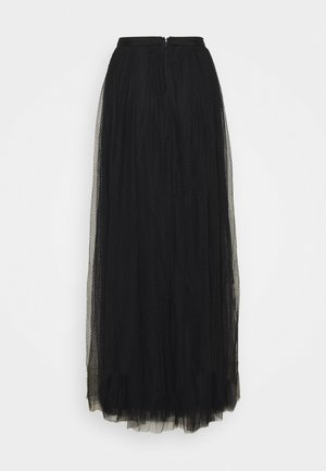 LONG SKIRT - Maxi skirt - black