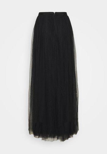 LONG SKIRT - Maxi sukně - black