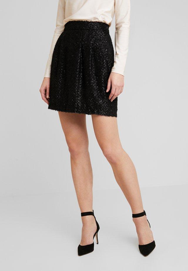 VMISOLDA SHORT SKIRT - A-line skirt - black