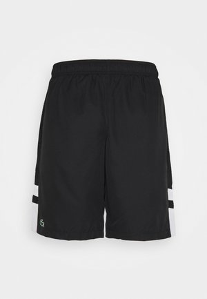 TENNIS SHORT - Korte broeken - black/white