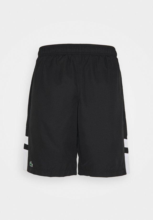 TENNIS SHORT - Short de sport - black/white