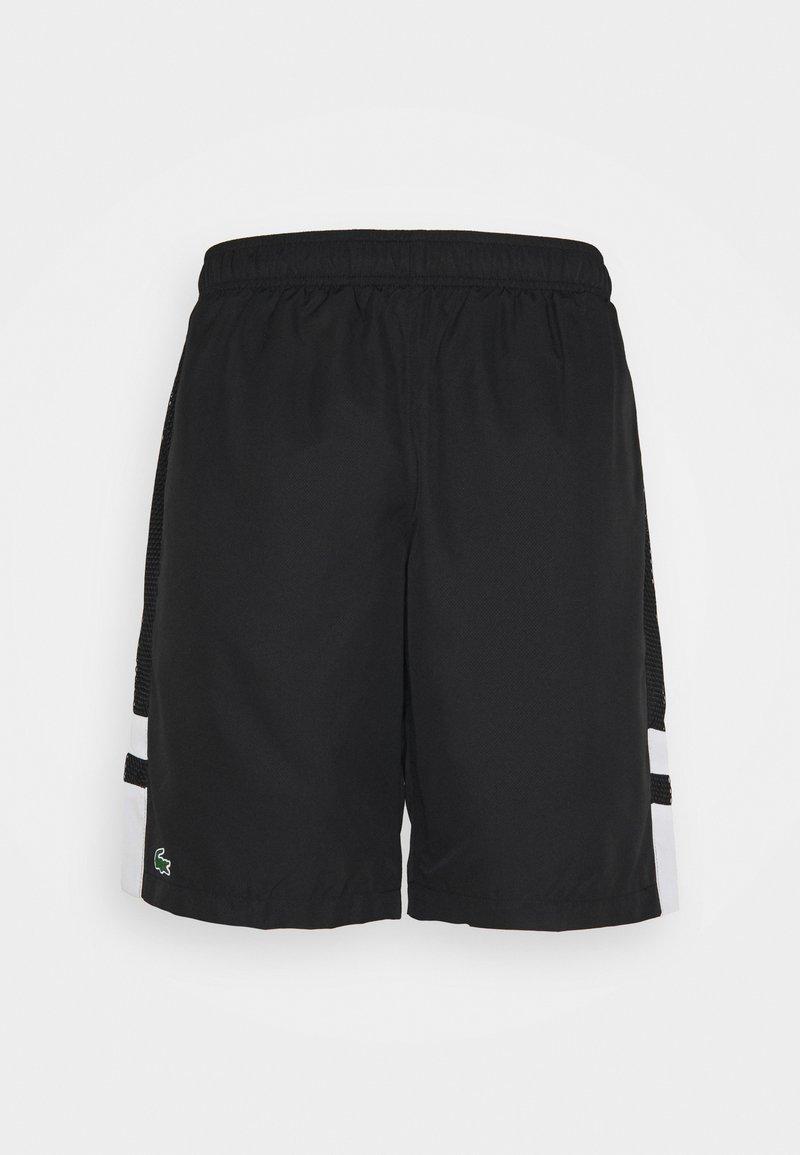 Lacoste Sport - TENNIS SHORT - Träningsshorts - black/white