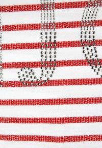 Alba Moda - Long sleeved top - rot weiß - 5