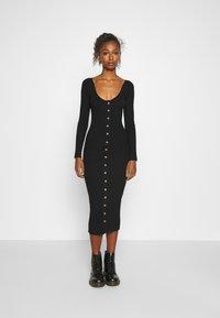Fashion Union - ALLISTER - Jumper dress - black - 0