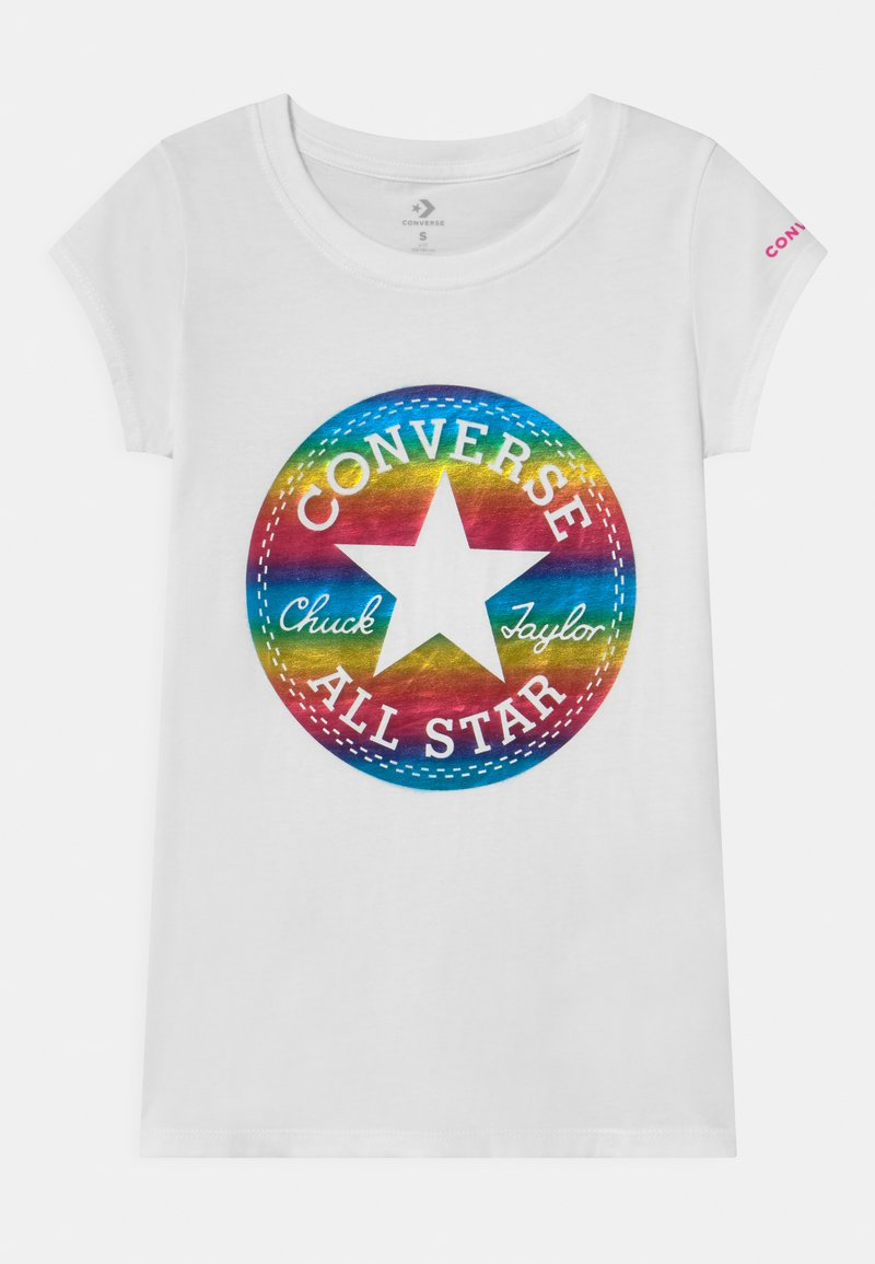 Converse - CHUCK PATCH  - Print T-shirt - white