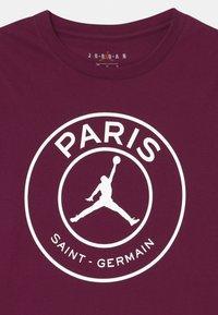 Jordan - PSG LOGO MIRRORED - Club wear - bordeaux - 2