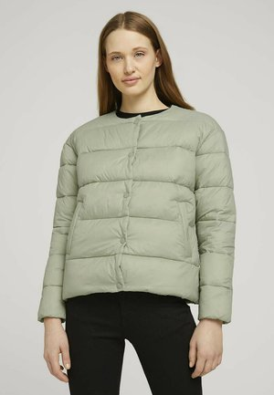KRAGENLOSE  - Winter jacket - light olive