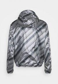 Emporio Armani - BLOUSON JACKET - Waterproof jacket - grey - 9