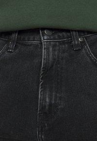 Carhartt WIP - PONTIAC PANT MAITLAND - Straight leg jeans - black stone washed - 8