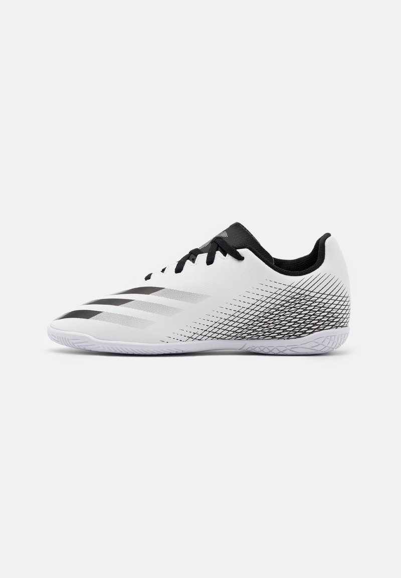 adidas Performance - X GHOSTED.4 FOOTBALL SHOES INDOOR UNISEX - Indoor football boots - footwear white/core black/silver metallic