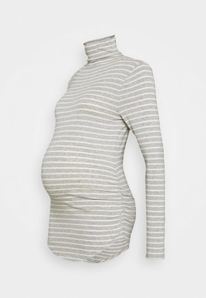 FUNNEL - Long sleeved top - grey