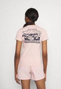 The North Face - HIMALAYAN BOTTLE SOURCE TEE - Printtipaita - evening sand pink - 2