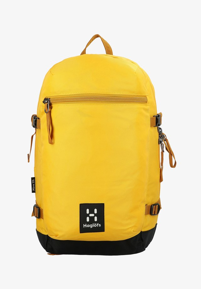 MIRRE - Rucksack - pumpkin yellow