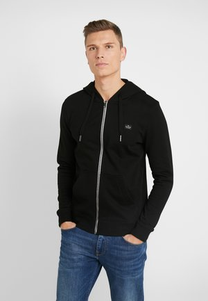 HOODIE JACKET - veste en sweat zippée - black
